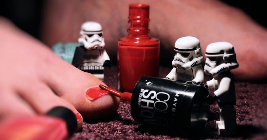 Star Wars Nail Art | POPSUGAR Beauty