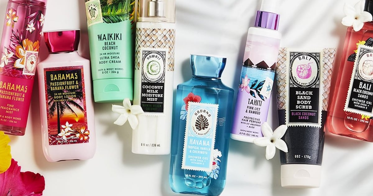 Bath and Body Works Products Summer 2019