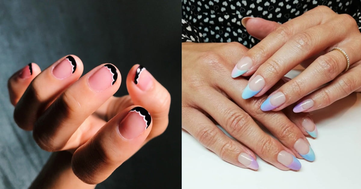French Manicure Ideas | POPSUGAR Beauty